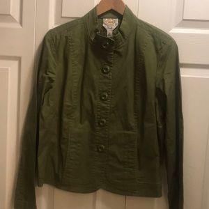 Talbots jacket army green